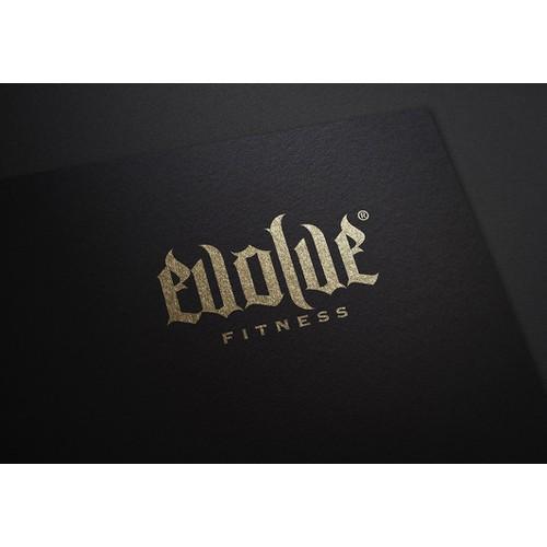 Evolve Fitness branding