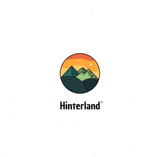 Hinterland logo design