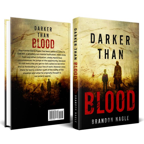 Fiction Thriller Cover Design