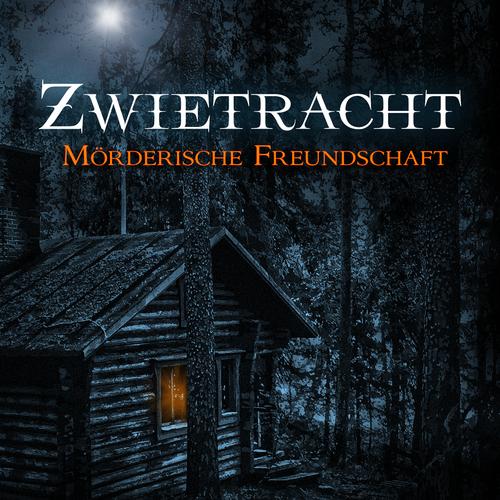 Cover design for dark horror story