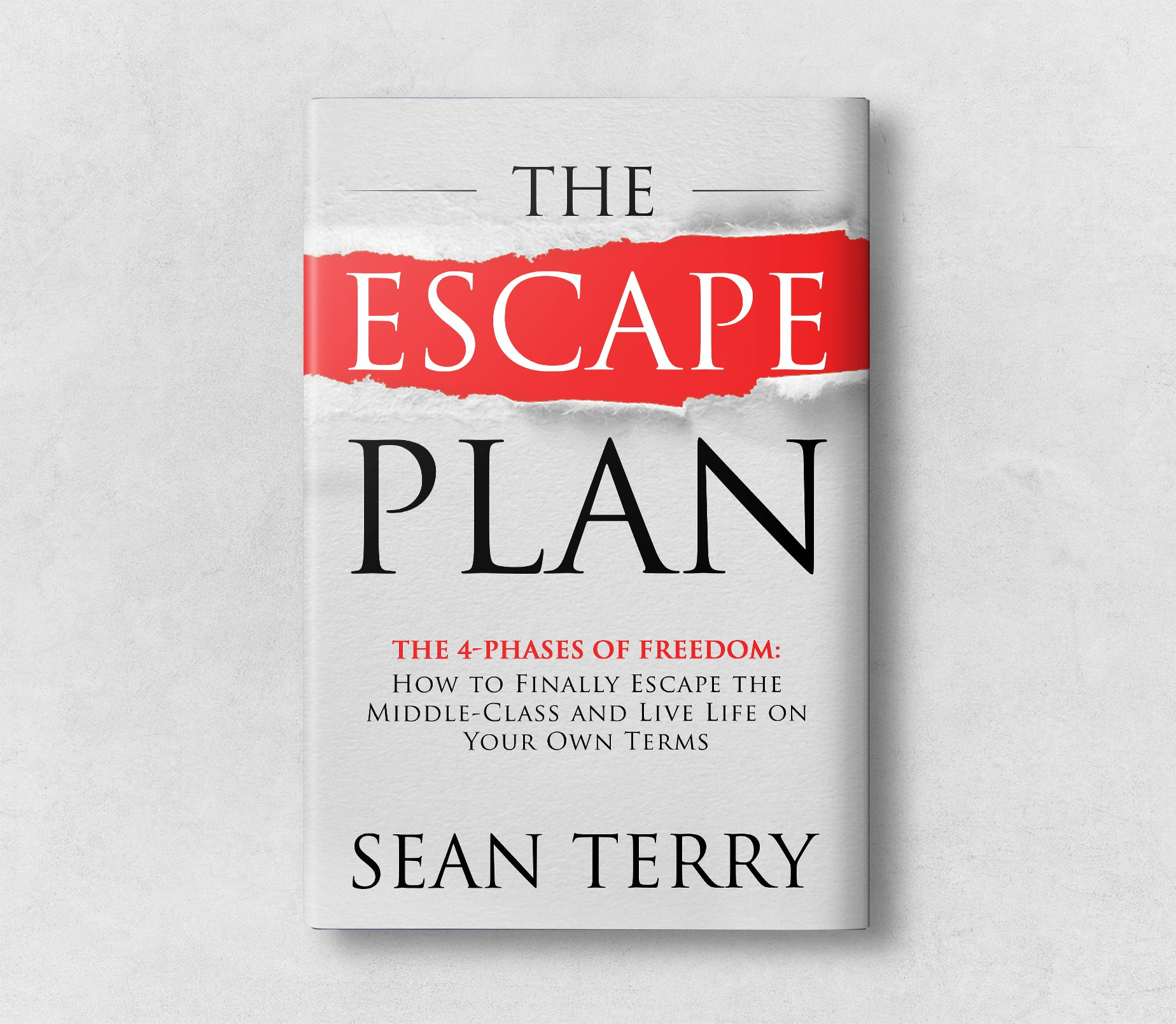 """Future NYT Best Seller Book Cover Called """"The Escape Plan"""""""