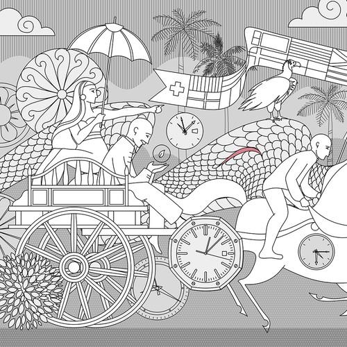 BP de Silva Illustration