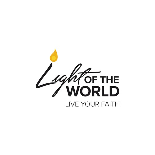 Light of the World logo design