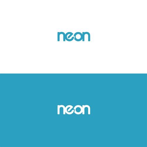 neon bank logo exploration