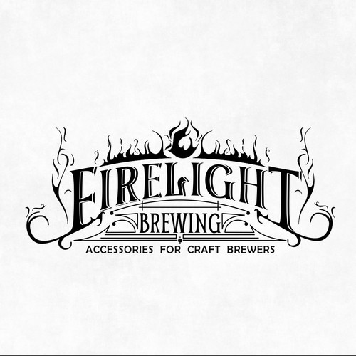 Hand drawn logo for Brewing Company