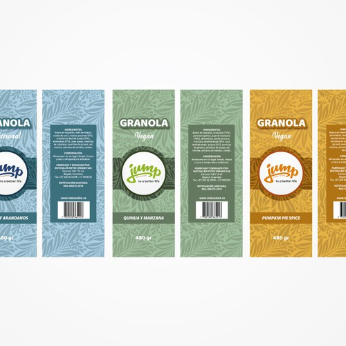 Ggranola Label Design