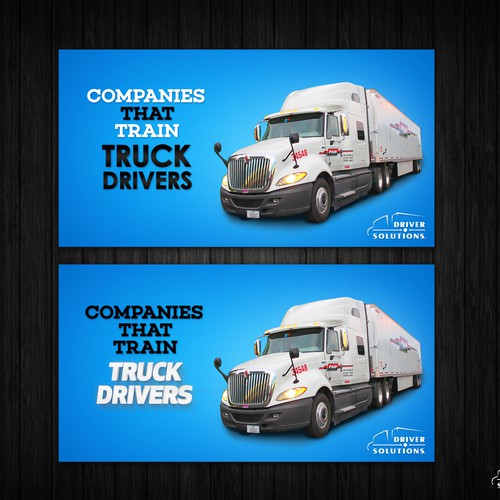 Truck banner ad