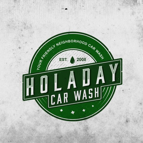 Classic logo for car wash