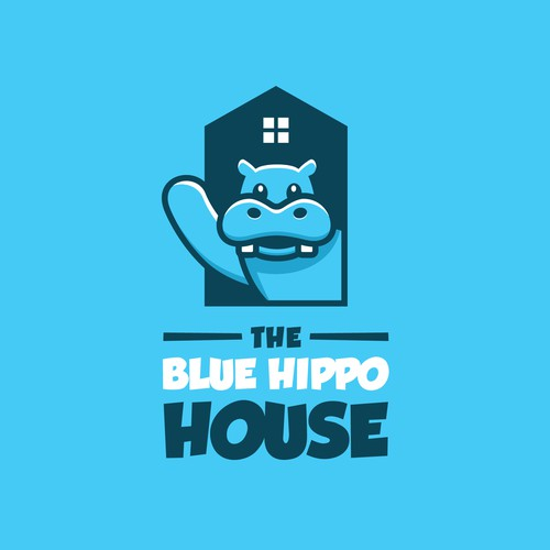 Project for House Hippo parody website