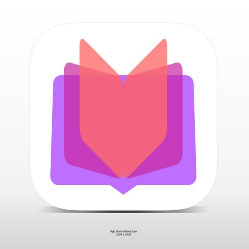 vibrant colorful App Icon