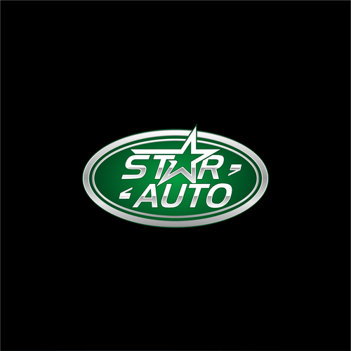 star auto logo design