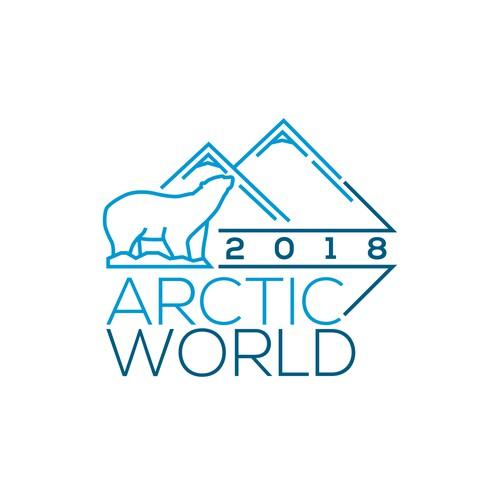 Logo concept for Arctic World 2018 Calendar