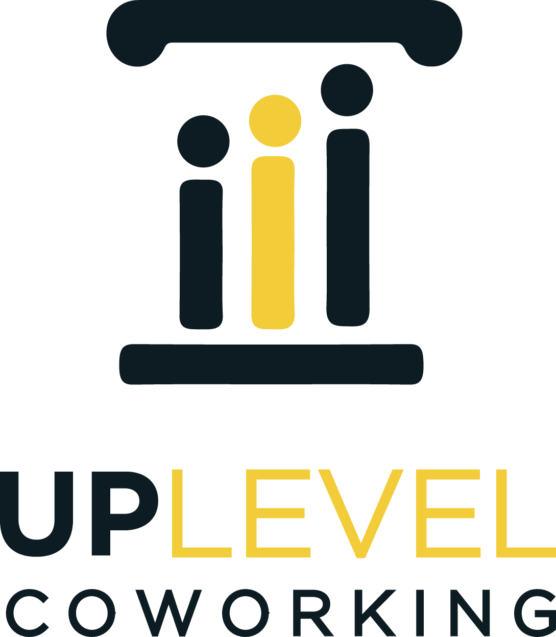 growth oriented coworking (UpLevel) needs a logo
