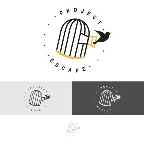 Project Escape logo concept