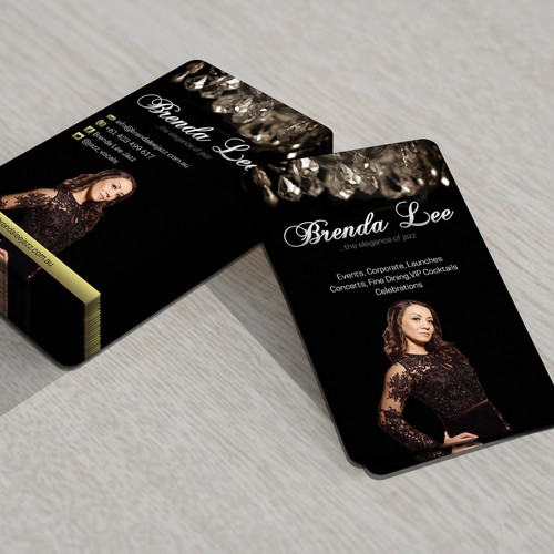 Capture the Elegance of Jazz in my Business Card