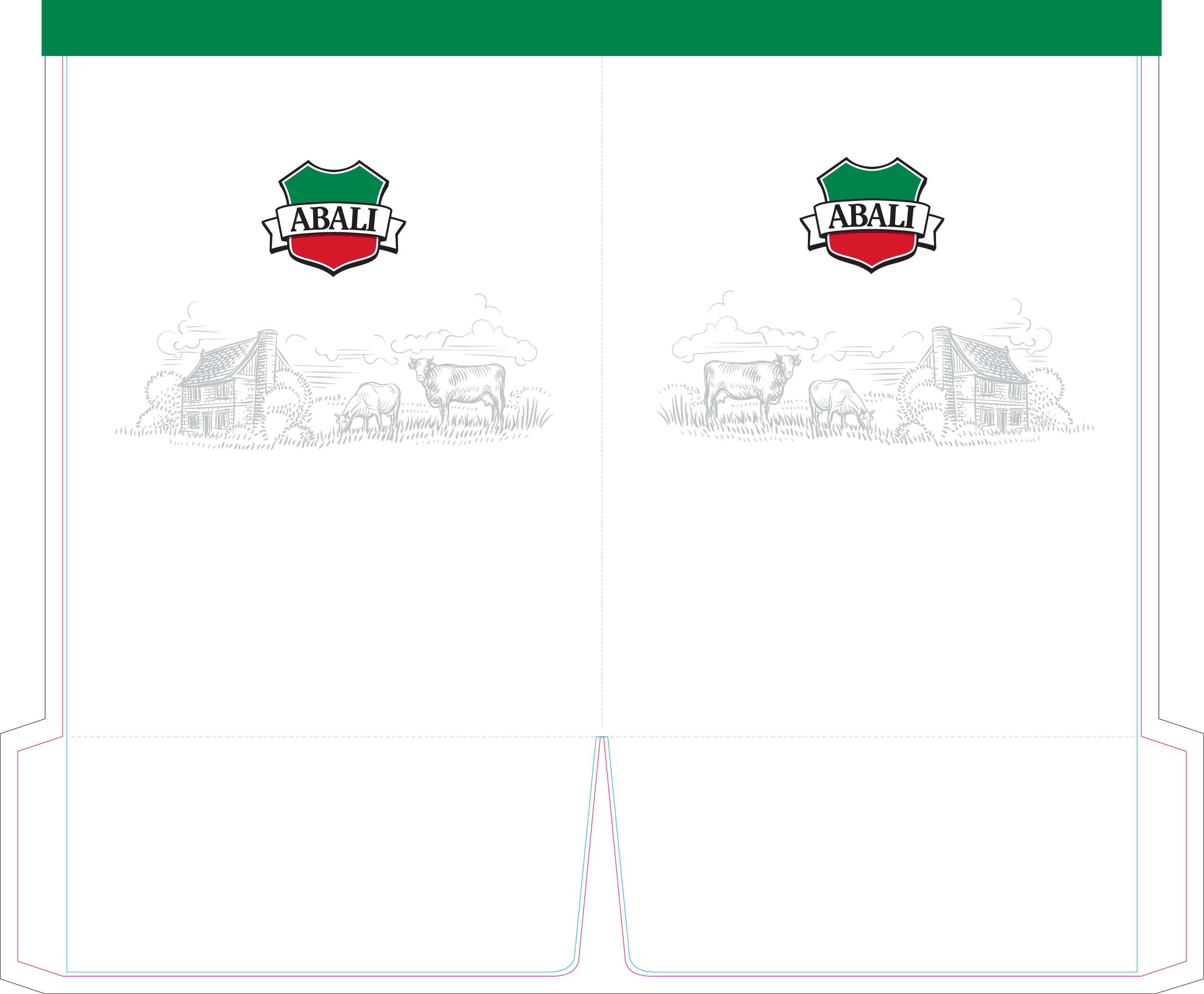 Design a Clean Sell Sheet & Presentation Folder for Abali Yogurt