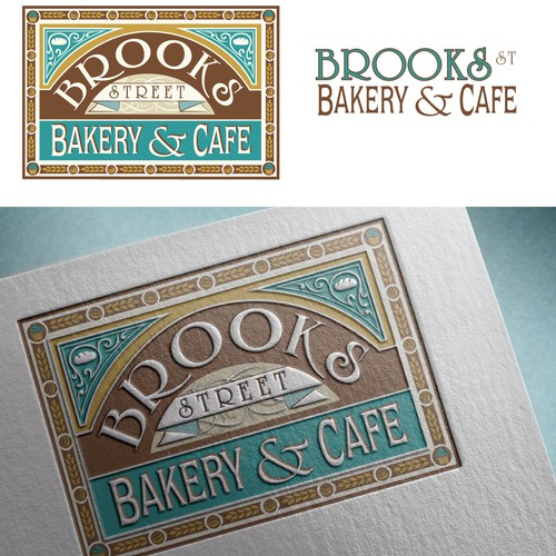 Vintage Logo for a Bakery