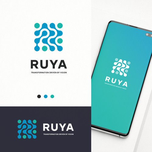 RUYA Logo Concept