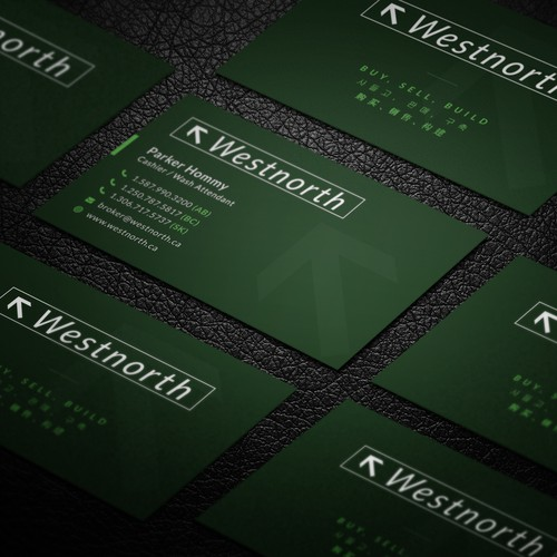 Sleek Professional Business Card