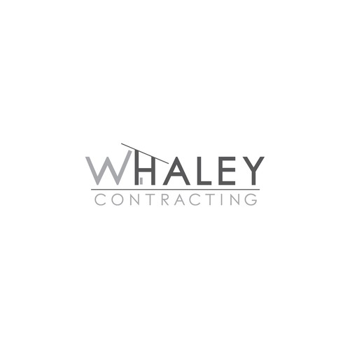 Clean Logo for Residential Contractor