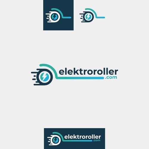 Logo design for elektroroller.com