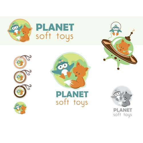 New logo wanted for Planet Soft Toys