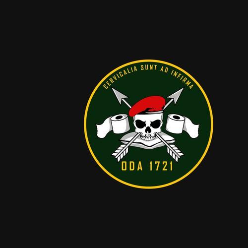 Logo design for military insignia