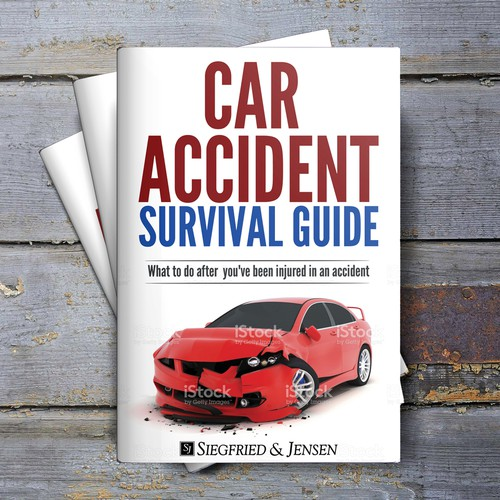 Accident Survival Guide ebook cover design