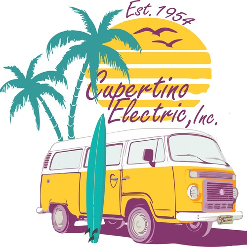 Surf Old Truck For Cupertino Electric