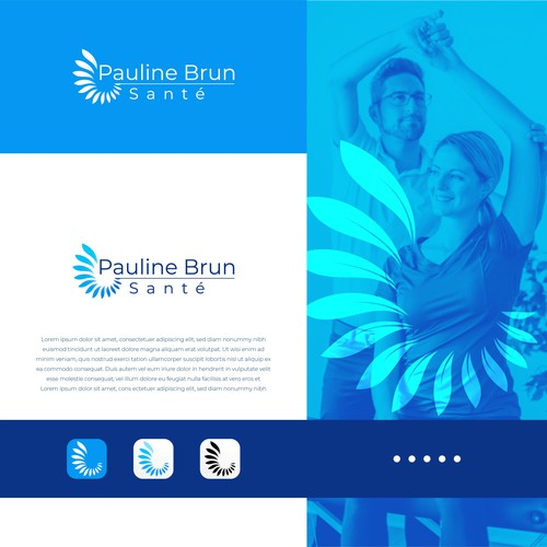 Logo Pauline Brun Santé