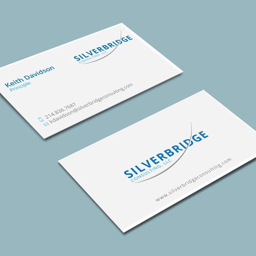Logo&business card for consulting agency