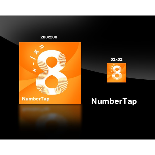 Help us make a Windows Phone 7 app icon for a game called NumberTap