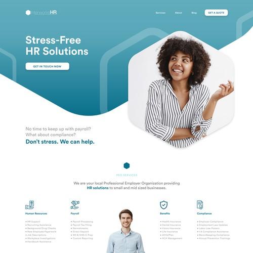 Web Design for HR Company