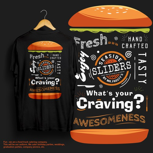 T-Shirt design for our Food Truck Catering Company