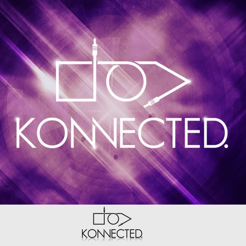 Help house music artist Konnected get a stylish and expressive logo