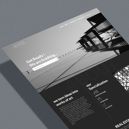 Web Page Design for Real Estate