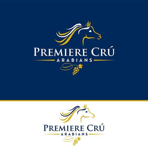 Premiere Crú Arabians Show Horse Logo