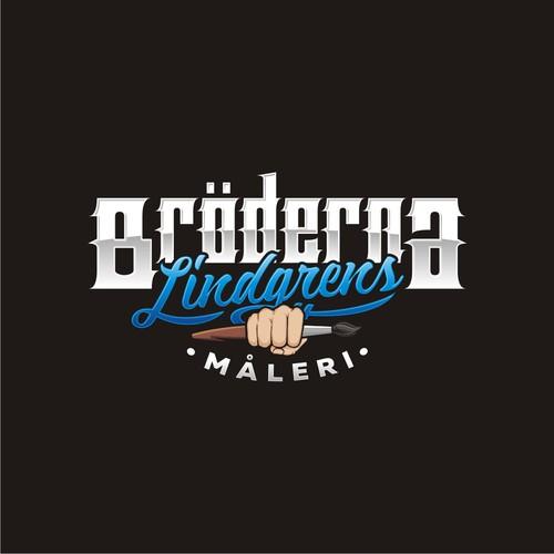 Logo Broderna Lindfrens Maleri