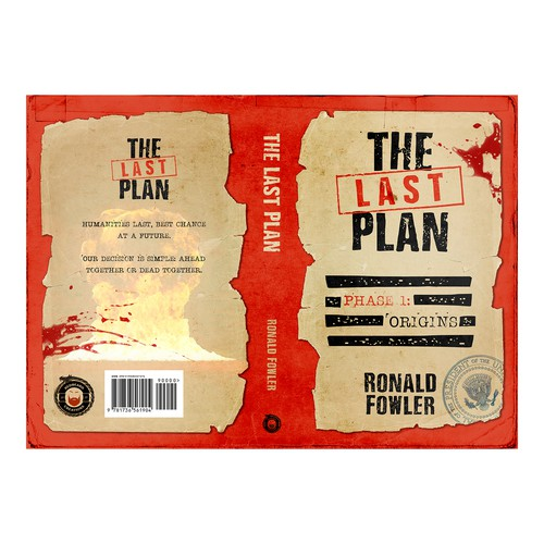 """Book cover for """"The Last Plan"""""""
