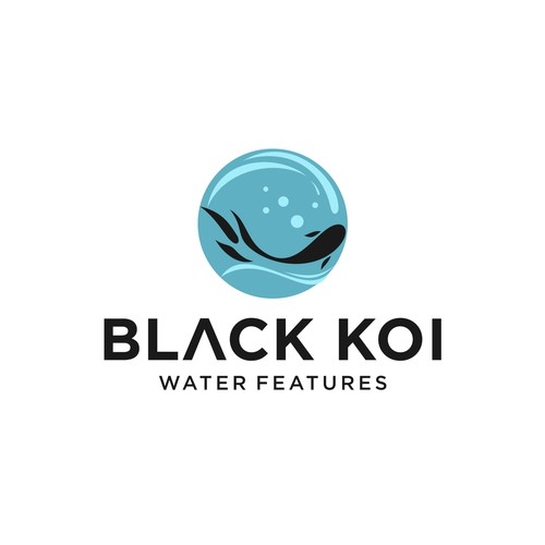 Black Koi Water features