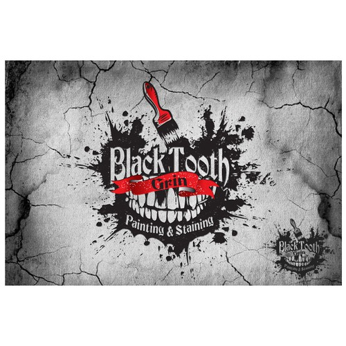 Create the next logo for Black Tooth Grin