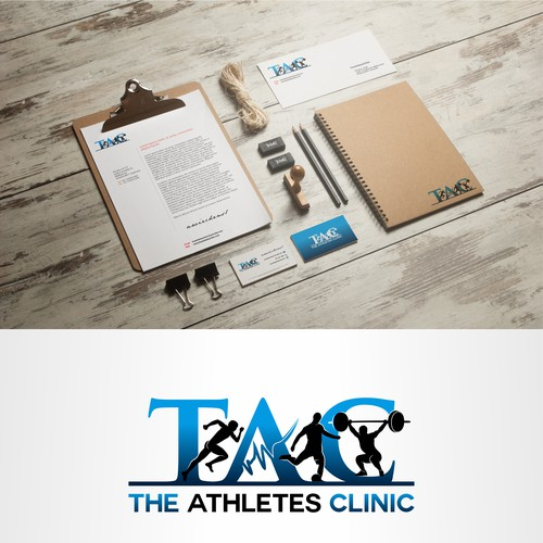 This is a Chiropractic Clinic that focuses mainly on the athlete and sports. We would like it to be something modern yet something that shows people what we are.