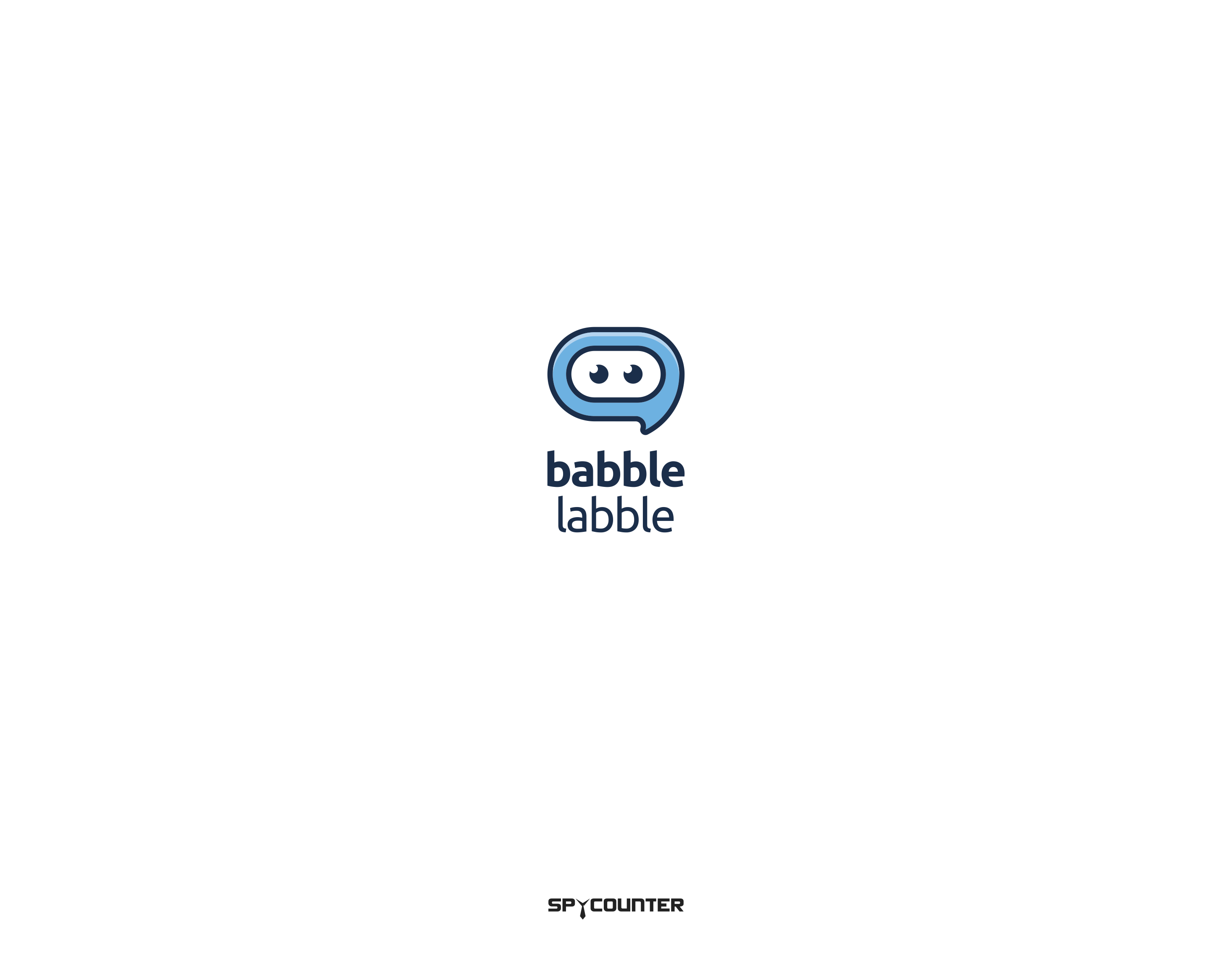 Design a logo for Babble Labble, a speech-guided machine learning system