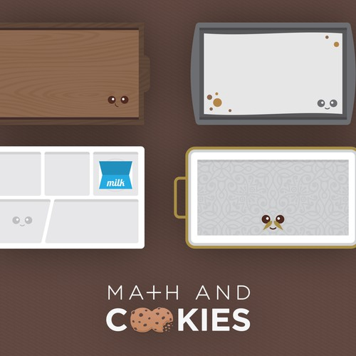 Math and Cookies Trays