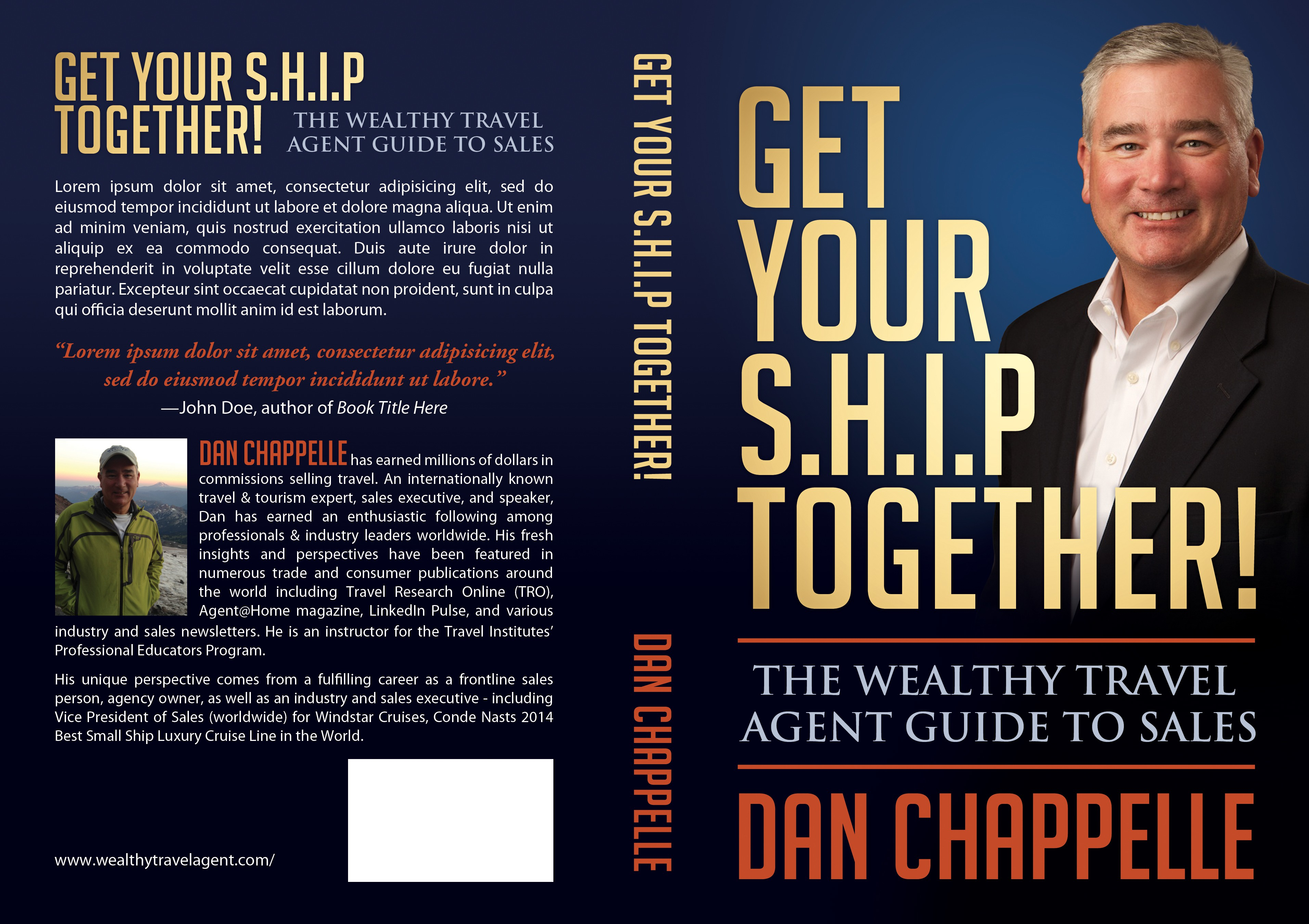 Get Your SHIP Together -create exciting book cover