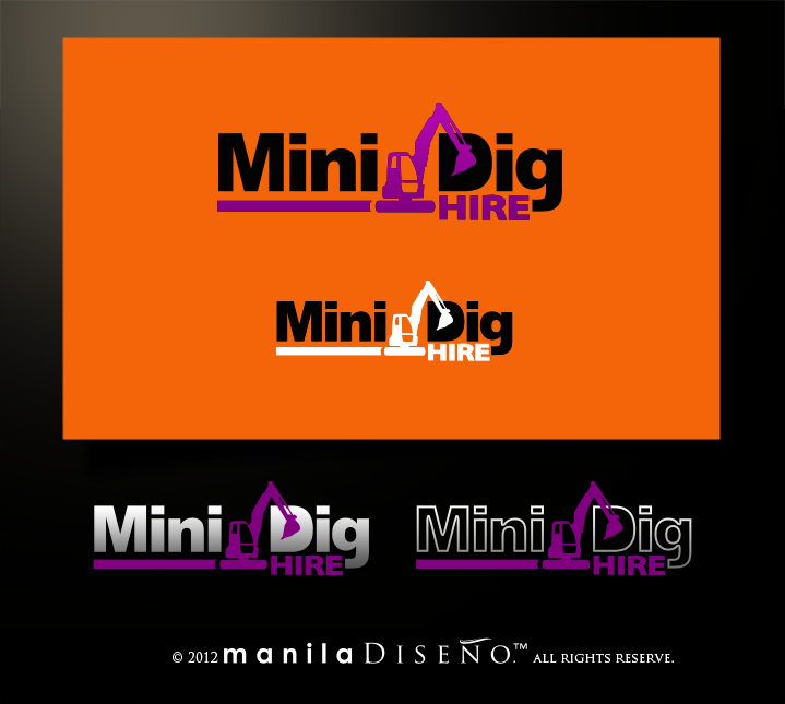 Help MiniDig Hire with a new illustration
