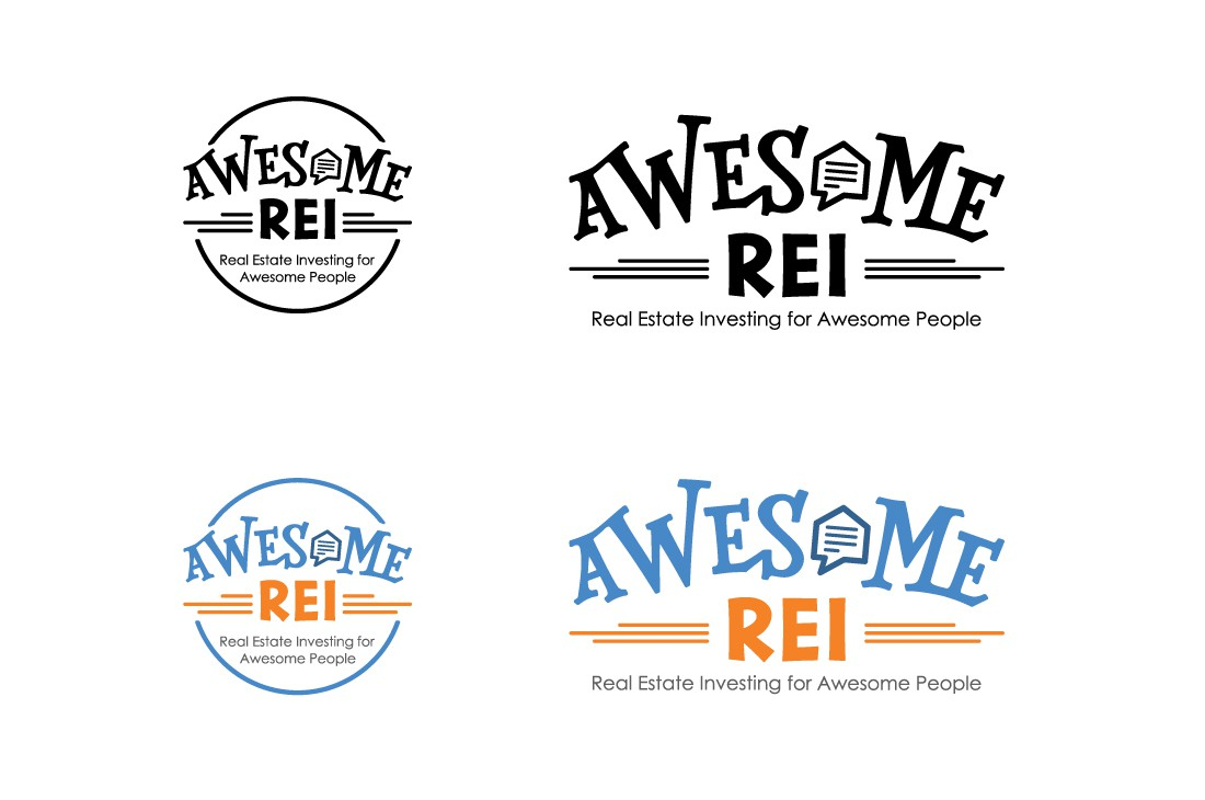 Craft a fun, AWESOME logo for a new real estate investing website.
