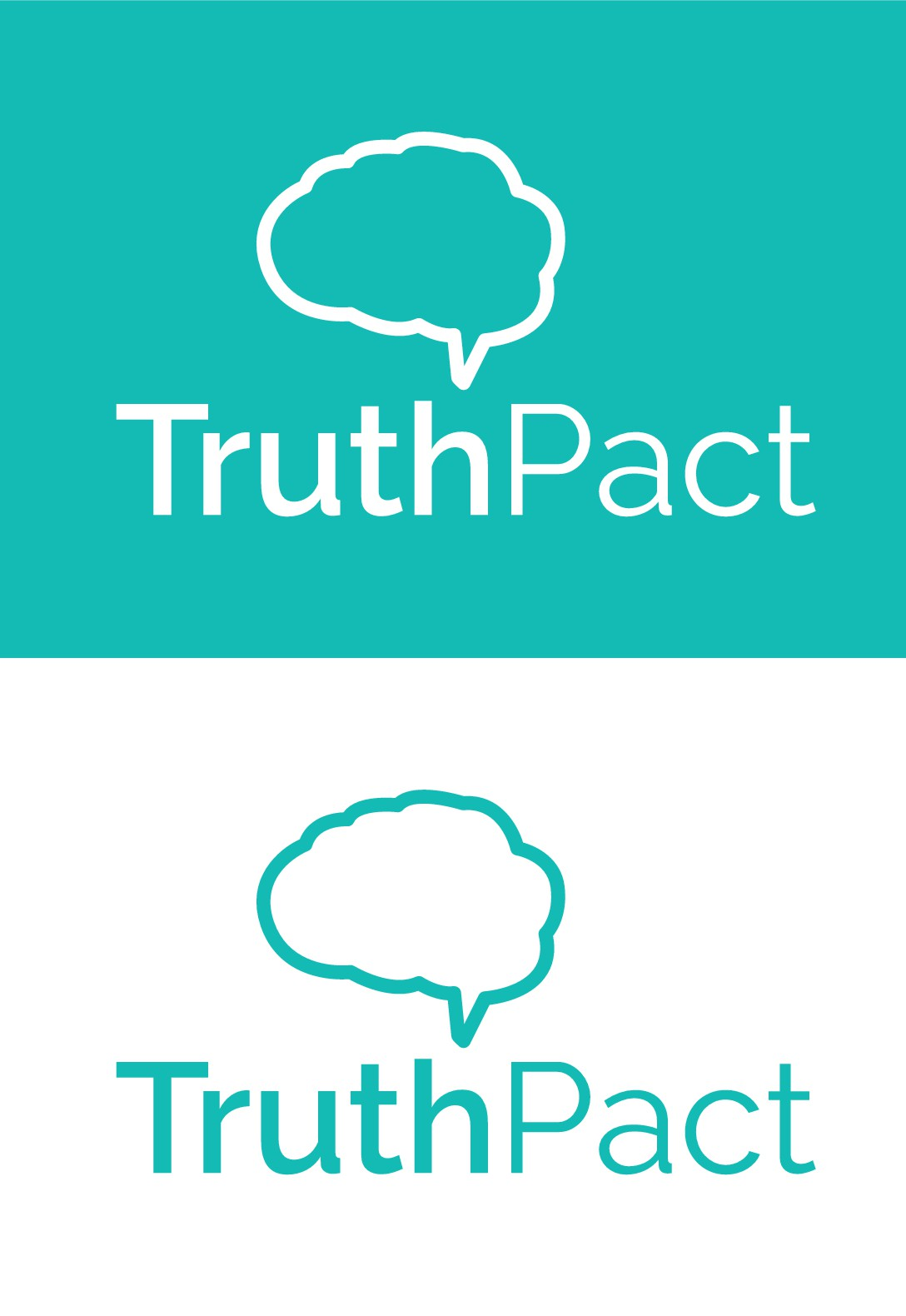 Design a logo for Truth Pact - displaying a committement to both truth and honesty