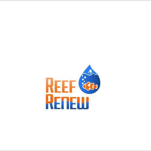 Create an eye catching logo for aquarium service Reef Renew