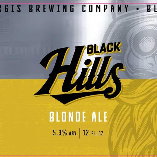 Beer Label, Sturgis Brewing Co. Black Hills Blonde